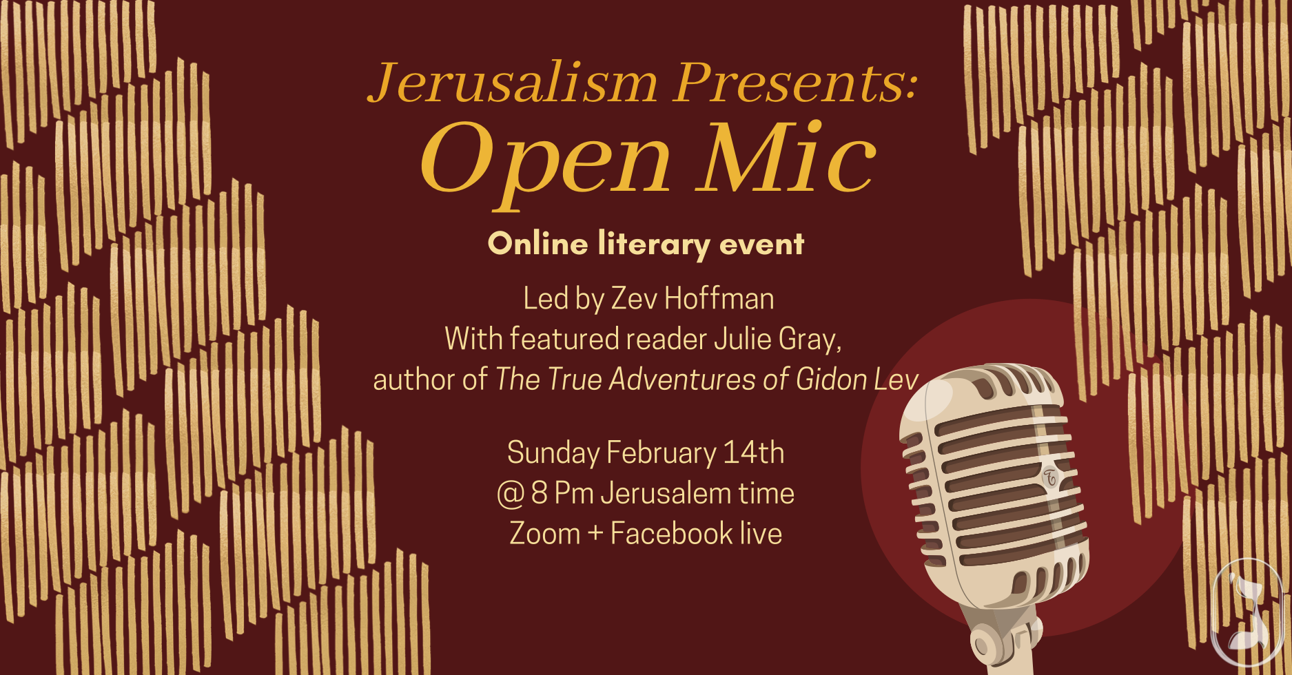 Open Mic with Featured Reader Julie Gray