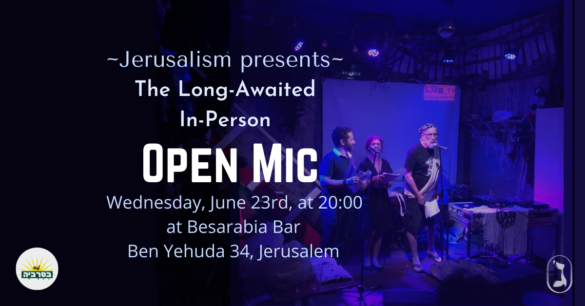 In-Person OPEN MIC
